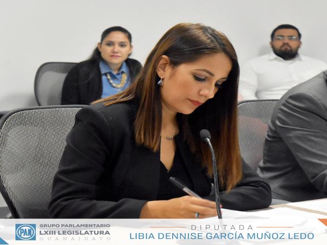Diputada Libia Dennise García Muñoz Ledo