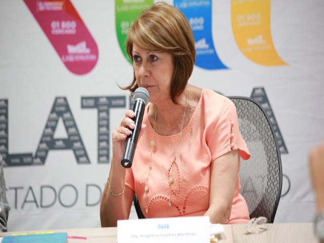 Diputada Angélica Casillas Martínez