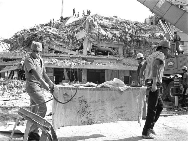 El terremoto del 19 de septiembre