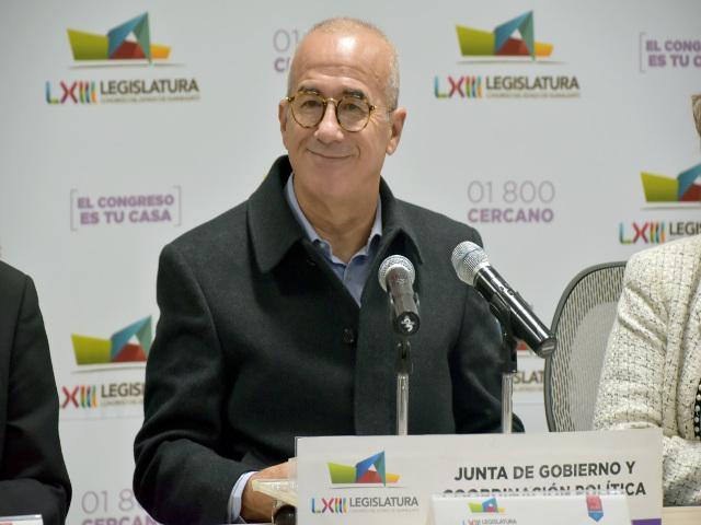 Diputado Éctor Jaime Ramírez Barba