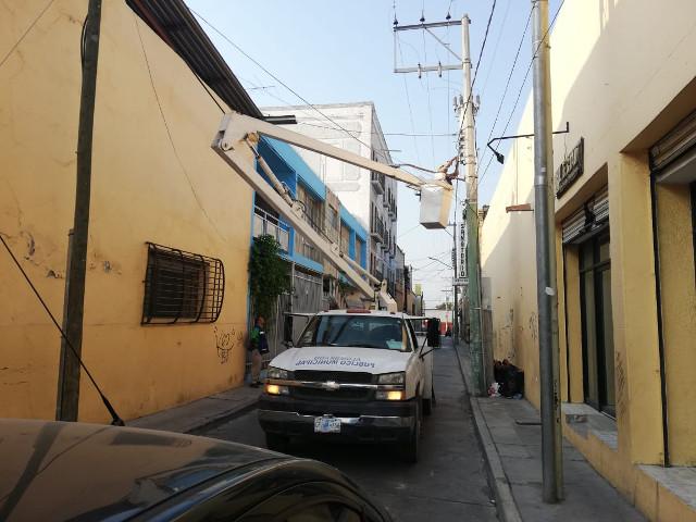 calles iluminadas