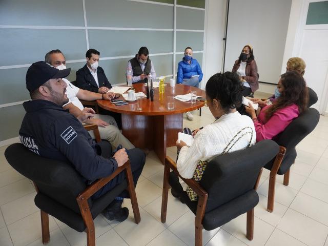 Reunión Secretaría de Seguridad 2