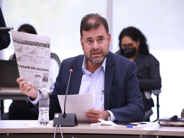 Diputado Jesús Oviedo Herrera